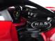 Ferrari 599 GTO Red 1/24 Diecast Model Car Bburago 26019