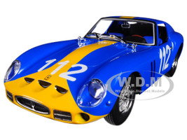Ferrari 250 GTO Blue #112 1/24 Diecast Model Car Bburago 26305