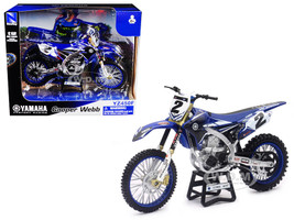 Yamaha Factory Racing YZ450F #2 Cooper Webb Motorcycle Model 1/12 New Ray 57893