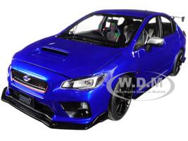2015 Subaru WRX STi S207 NBR Challenge Package Blue Limited Edition to 3888 pieces Worldwide 1/18 Diecast Model Car Sunstar 5552