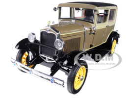 1931 Ford Model A Tudor Chicle Drab Arabian Sand 1/18 Diecast Model Car Sunstar 6103
