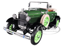 1931 Ford Model A Roadster Brewster Green 1/18 Diecast Model Car Sunstar 6123