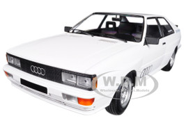 1980 Audi Quattro White Limited Edition to 504 pieces Worldwide 1/18 Diecast Model Car Minichamps 155016120