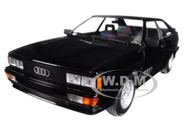 1980 Audi Quattro Black Metallic Limited Edition to 504 pieces Worldwide 1/18 Diecast Model Car Minichamps 155016121