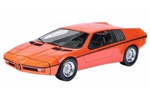 1972 BMW Turbo X1 E25 Orange 1/18 Model Car Schuco 450008900