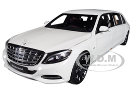 Mercedes S 600 Maybach Pullman White 1/18 Model Car Autoart 76296