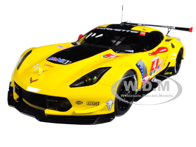 Autoart 81606-1//18 CHEVROLET CORVETTE c7.r Lime Rock 2016-NUOVO