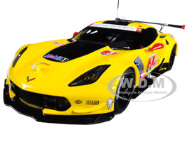 Chevrolet Corvette C7 R #3 Lime Rock 2016 2nd Place Antonio Garcia Jan Magnussen 1/18 Model Car Autoart 81607