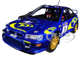 Subaru Impreza WRC 1997 #3 Rally Safari Colin McRae Nicky Grist 1/18 Diecast Model Car Autoart 89792