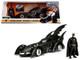 1995 Batman Forever Batmobile with Diecast Batman Figure 1/24 Diecast Model Car Jada 98036