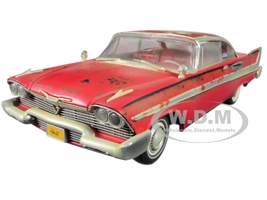 1958 Plymouth Fury Christine Dirty Rusted Version 1/18 Diecast Model Car Autoworld AWSS119
