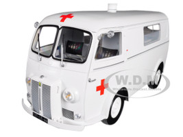 1963 Peugeot D4B Ambulance 1/18 Diecast Model Car Norev 184699