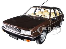 1981 Renault 30 TX Bronze Brown 1/18 Diecast Model Car Norev 185271