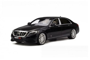 Mercedes Brabus Maybach 900 Black Limited Edition to 1500pcs 1/18 Model Car GT Spirit GT163