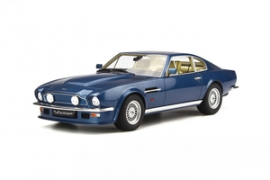 Aston Martin V8 Vantage V580 X-Pack Blue Limited Edition to 500pcs Worldwide 1/18 Model Car GT Spirit GT744