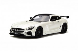Mercedes Benz SLS FAB Design Areion White Limited Edition to 999pcs Worldwide 1/18 Model Car GT Spirit GT157