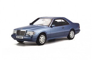 Mercedes C124 E320 Coupe Blue Limited Edition to 2000pcs 1/18 Model Car Otto Mobile OT682