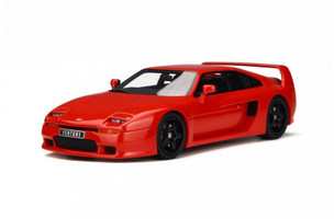 Venturi 400 GT Phase 2 Red Limited Edition to 1000pcs 1/18 Model Car Otto Mobile OT663