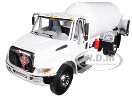 International DuraStar with Propane Body White 1/34 Diecast Model First Gear 10-4059