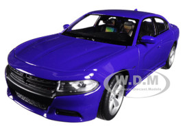 2016 Dodge Charger R/T Purple 1/24 1/27 Diecast Model Car Welly 24079