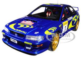 1997 Subaru Impreza WRC #3 Rally Monte Carlo Colin McRae Nicky Grist 1/18 Diecast Model Car Autoart 89790