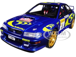 1997 Subaru Impreza WRC #4 Rally Monte Carlo Piero Liatti Fabriziapons 1/18 Diecast Model Car Autoart 89791