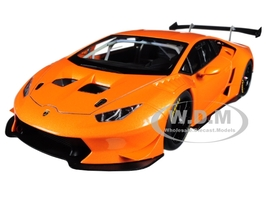 2015 Lamborghini Huracan Super Trofeo Orange Pearl Arancio Borealis 1/18 Model Car Autoart 81558