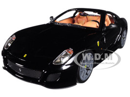 Ferrari 599 GTO Black 1/24 Diecast Model Car Bburago 26019