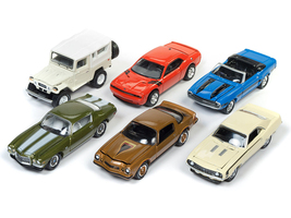 Classic Gold 2017 Release 4 Set A of 6 cars 1/64 Diecast Model Cars  Johnny Lightning JLCG012 A