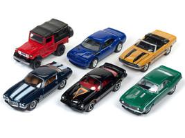 Classic Gold 2017 Release 4 Set B of 6 cars 1/64 Diecast Model Cars Johnny Lightning JLCG012 B