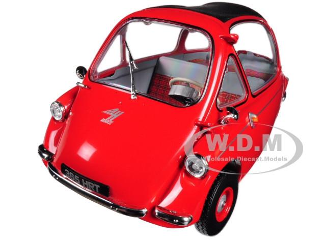 Heinkel Trojan LHD Bubble Car Red 1/18 Diecast Model Car Oxford Diecast 18HE002
