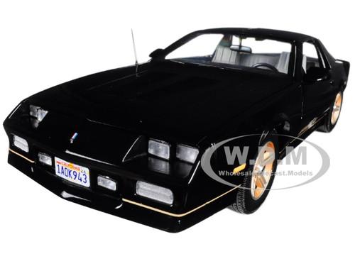 1985 Chevrolet Camaro IROC-Z Black 1/18 Diecast Model Car Sunstar 1943