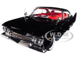 1960 Plymouth Fury Hard Top Jet Black Platinum Edition 1/18 Diecast Model Car Sunstar 5423