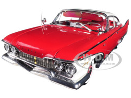1960 Plymouth Fury Hard Top Plum Red Platinum Edition 1/18 Diecast Model Car Sunstar 5424