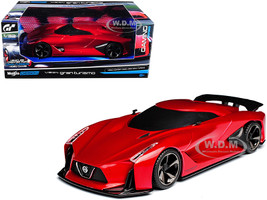 2020 Nissan Concept Vision Gran Turismo Red 1/32 Diecast Model Car Maisto 22302 B