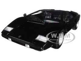Lamborghini Countach LP400 Black 1/18 Model Car Kyosho C 09531 BK