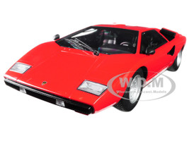 Lamborghini Countach LP400 Red 1/18 Diecast Model Car Kyosho C 09531 R