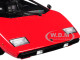 Lamborghini Countach LP400 Red 1/18 Diecast Model Car Kyosho C 09531 R