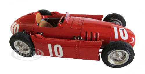 1954-1955 Lancia D50 1955 GP Pau #10 Eugenio Castellotti 1/18 Limited Edition to 1000 pieces Worldwide CMC 178