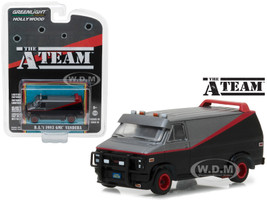 B.A's 1983 GMC Vandura The A Team 1983-1987 TV Series Hollywood Series 19 1/64 Diecast Model Car Greenlight 44790 B
