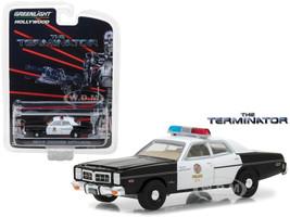 1977 Dodge Monaco The Terminator Movie 1984 Hollywood Series 19 1/64 Diecast Model Car Greenlight 44790 C