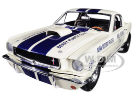 Mel Burns 1965 Drag Shelby GT350 AHRA Record Holder Limited Edition to 536 pieces Worldwide 1/18 Diecast Model Car ACME A1801811