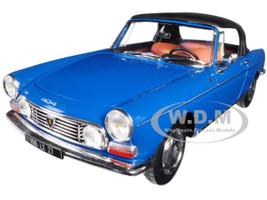 1967 Peugeot 404 Cabriolet Mendoza Blue 1/18 Diecast Model Car Norev 184832