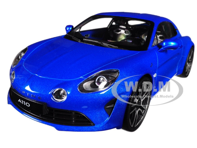 2017 Renault A110 Alpine Blue 1/18 Diecast Model Car Norev 185148
