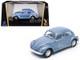 1972 Volkswagen Beetle Metallic Blue 1/43 Diecast Model Car Road Signature 43219