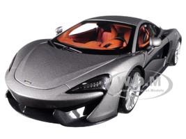 McLaren 570S Blade Silver 1/18 Model Car Autoart 76043