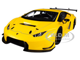 Lamborghini Huracan GT3 Yellow with Pearl Effect Giallo Into 1/18 Model Car Autoart 81528