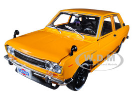 1970 Datsun 510 Bronze Yellow Auto-Japan 1/24 Diecast Model Car M2 Machines 40300-60