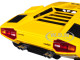 Lamborghini Countach LP400 Yellow 1/18 Diecast Model Car Kyosho C 09531 Y