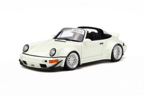 Porsche RWB 964 Targa White Limited Edition to 999 pieces Worldwide 1/18  Model Car by GT Spirit